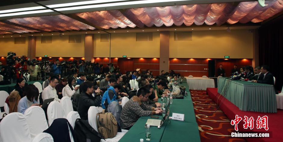 北京 马航/3月11日,马来西亚航空公司在北京举行第四次新闻发布会,介绍...
