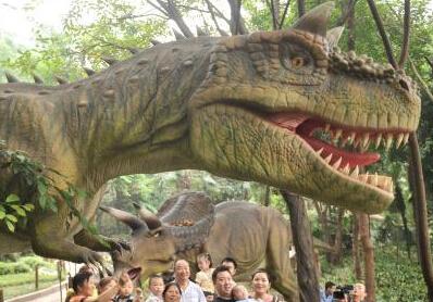 """重庆动物园""""恐龙谷""""将开园 展不同时代""""恐龙"""""""""""