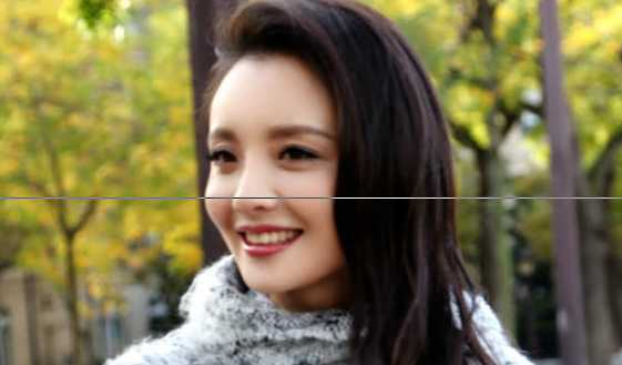 高清:孙茜冬日时尚街拍回眸浅笑漾暖意