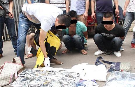 广西边境涉嫌武装贩毒家族团伙被端