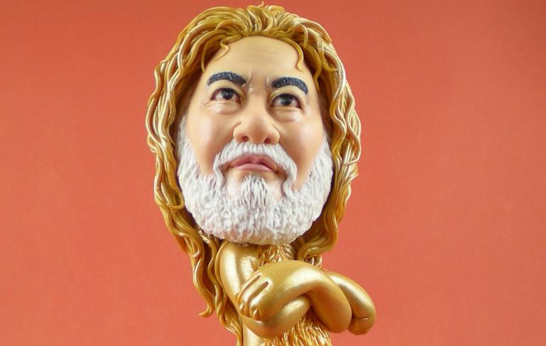 """魏君麗雕塑人"""""""